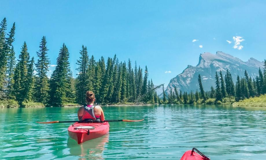 Canoeing in Summer