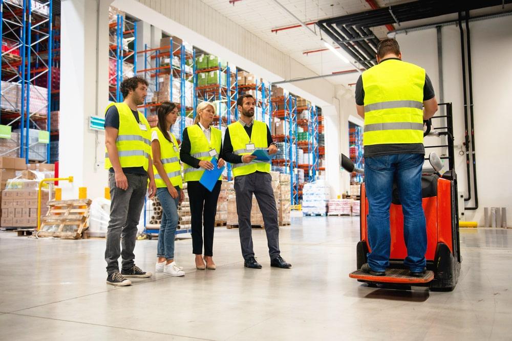Forklift safety training tips