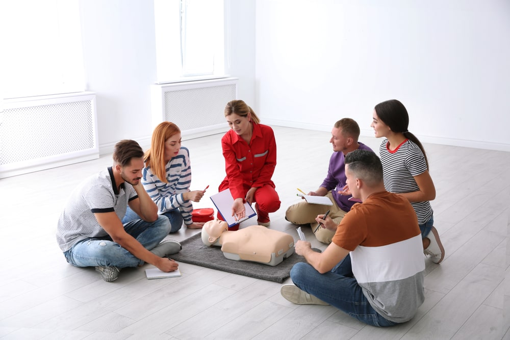 first aid level c course